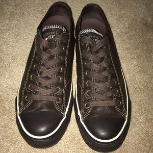 Converse All-Stars (Brown Leather)